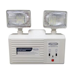 Luminária de Emergencia 48Leds Bivolt Segurimax