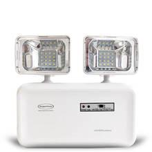 Luminária de Emergência LED 600 Lumens 2 Faróis Segurimax