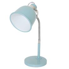 Luminária de Mesa Inspire ABU Redondo Metal Azul Bivolt
