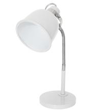 Luminária de Mesa Inspire ABU Redondo Metal Branco Bivolt