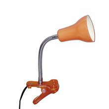Luminária de Mesa LED Inspire Salta Redondo Metal Laranja Bivolt