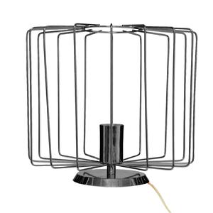 Luminária de Mesa Preta Metal Onelia Inspire