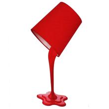 Luminária de Mesa Inspire Splash Redondo Plástico Vermelha Bivolt
