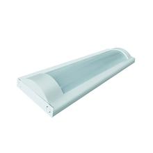 Luminária de Sobrepor LED Ourolux Aletada 2x9W Luz Branca 60 cm Bivolt