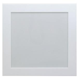 Luminária de Teto de Embutir Tualux Quadrado Metal e Plástico Branco Bivolt