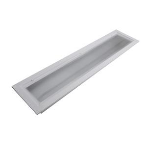 Luminária de Teto Embutir Retangular Aço Branco 17W Bivolt