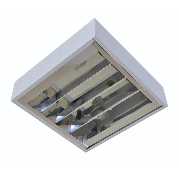 Luminária de Teto Sobrepor 2 L u00e2mpadas Acrux Blan Luminárias Leroy Merlin