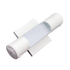 Luminária de Teto Sobrepor Tualux Retangular Metal Branco 1 Lâmpada Bivolt