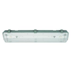 Luminária de Teto LLUM Bronzearte Waterproof Retangular Plástico Transparente Bivolt