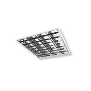 Luminária embutir Alumínio 7,6x61,8cm Branca Metal Técnica