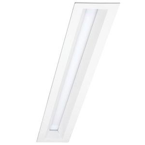 Luminária de Embutir VR0356 Retangular 1 Lâmp. T8 Bivolt Branco VR Lux