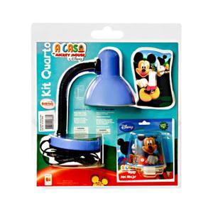 Luminária mesa Mickey ABS/Aço Estampada Startec