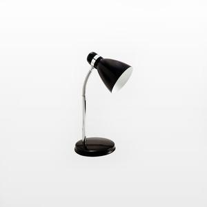 Luminária mesa Prince Aço/Polipropileno 95x18cm Preta Startec