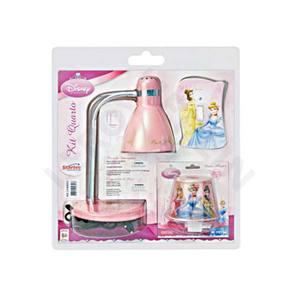 Luminária mesa Princesas ABS/Aço Estampada Startec