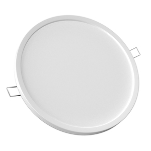 Luminária Painel LED de Embutir 8W Luz Amarela Electrolux