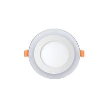 Luminária Painel LED de Embutir 9W Luz Amarela e Branca Inspire