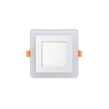 Luminária Painel LED de Embutir 9W Luz Branca e Amarela Elgin
