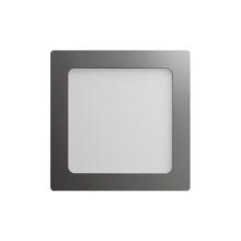 Luminária Painel LED de Embutir ou Sobrepor 12W Luz Amarela Inspire