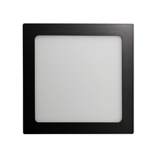 Luminária Painel LED de Embutir ou Sobrepor 18W Luz Amarela Inspire
