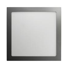 Luminária Painel LED de Embutir ou Sobrepor 24W Luz Amarela Inspire