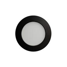 Luminária Painel LED de Embutir ou Sobrepor 6W Luz Amarela Inspire