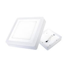 Luminária Painel LED de Sobrepor 16W Luz Amarela e Branca Inspire