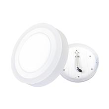 Luminária Painel LED de Sobrepor 18W Luz Amarela e Branca Inspire