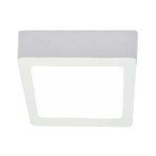 Luminária Painel LED de Sobrepor 36W Luz Amarela Diamante