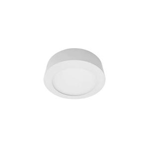 Luminária Painel LED de Sobrepor 6W Luz Amarela GalaxyLED