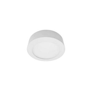 Luminária Painel LED de Sobrepor 6W Luz Amarela Metal Técnica