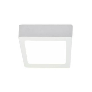 Luminária Painel LED Golden Quad Sobrepor 18W Quadrado Luz Branca Bivolt