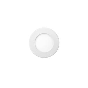 Luminária Painel Slim LED Golden Slim Embutir 3W Redondo Luz Branca Bivolt