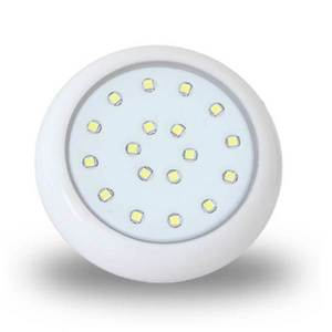 Lumin ria para piscina 12 5 cm 18w ip68 luz multicolor for Luminarias para piscinas