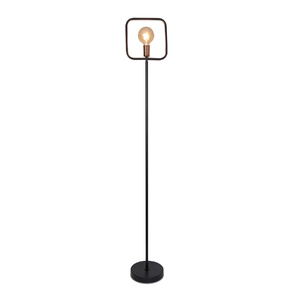 Luminária para Piso e Chão Spot Line Preta