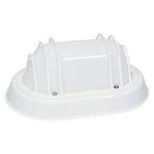 Luminária Tartaruga Oval Branco Taschibra