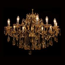 Lustre 12 Lâmpadas Dourado 1540/12 Diamante