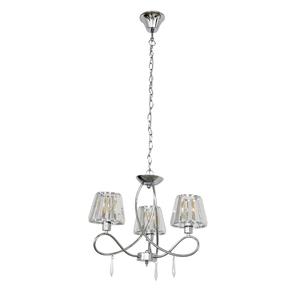 lustre 3 l mpadas crystal clear inspire leroy merlin. Black Bedroom Furniture Sets. Home Design Ideas