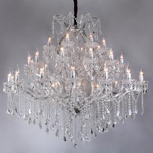 Lustre 40 Lâmpadas Cristal CH1031-T Chandelie