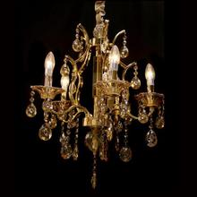 Lustre 5 Lâmpadas Dourado 1540/5 Diamante