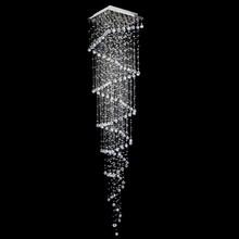 Lustre de Cristal Original Esfera Caracol para 5 Dicroicas