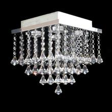 Lustre de Cristal Original Pião Pirâmide Shiga para 4 GU10