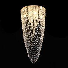 Lustre de Cristal Original Véu de Noiva para 4 Lâmpadas G9