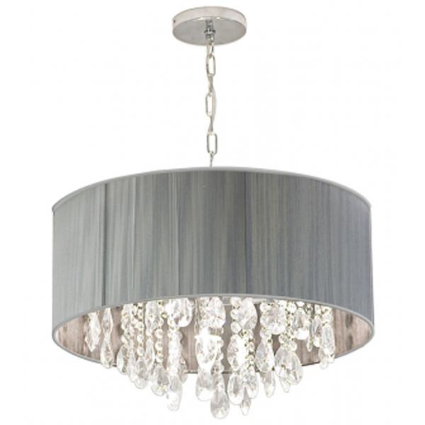 pendente startec master diamond redondo cristal prata bivolt leroy merlin. Black Bedroom Furniture Sets. Home Design Ideas