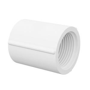 "Luva Branca PVC Roscável 40mm ou 1.1/4"" Tigre"
