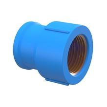 "Luva com Bucha Azul PVC Roscável e Soldável 25x25mm ou 3/4""x3/4"" Plastilit"