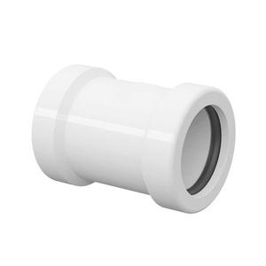 """Luva de Correr Branca PVC Roscável 25mm ou 3/4"""" Tigre"""