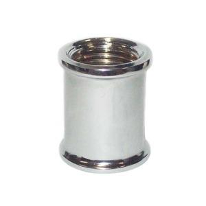 """Luva de Redução Latão Água Quente e Fria 25mmx20mm ou 3/4""""x1/2""""  Forusi"""