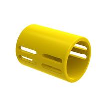 Luva Pressão para Eletroduto Flexível Corrugado PVC Amarelo 25 x 41 mm Embalagem 50 Peças Tigre