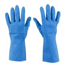 Luvas Tarefas Pesada Azul Média Limppano