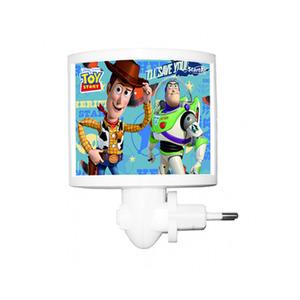 Luz Noturna Startec Toy Story Retangular Acrílico/Papel Colorido Bivolt